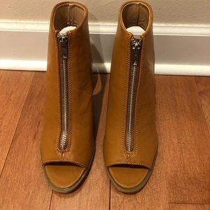 Brand New Report Peep Toe Booties